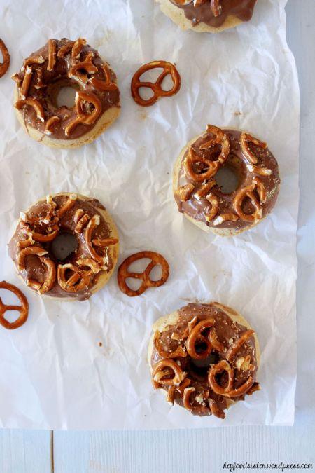 Rezept für Erdnussdonuts Hey Foodsister Blog