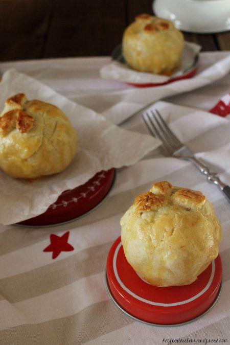 Rezept für Bratäpfel im Pieteig Hey Foodsister