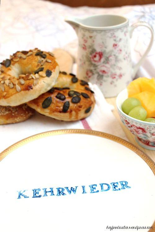 Rezept Bagels zu Frühstück Hey Foodsister
