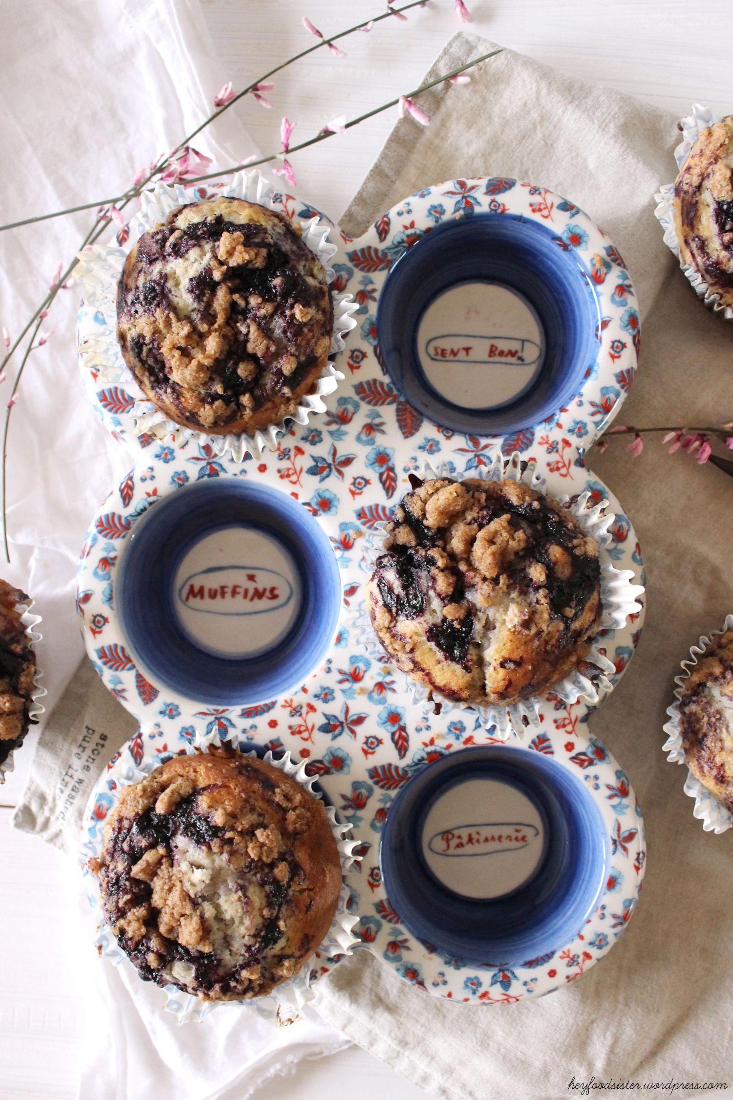 wenn muffintr umchen wahr werden blaubeermuffins mit zimtstreuseln und zitrone hey foodsister. Black Bedroom Furniture Sets. Home Design Ideas