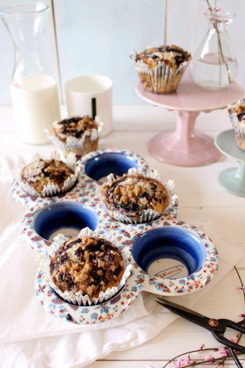 Rezept für Blaubeer Muffins