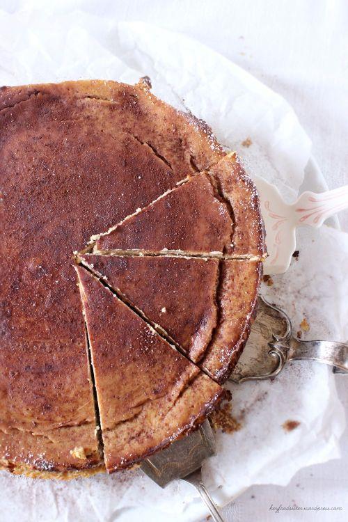 Rezept für einen Ricotta Espresso Cheesecake Hey Foodsister Blog