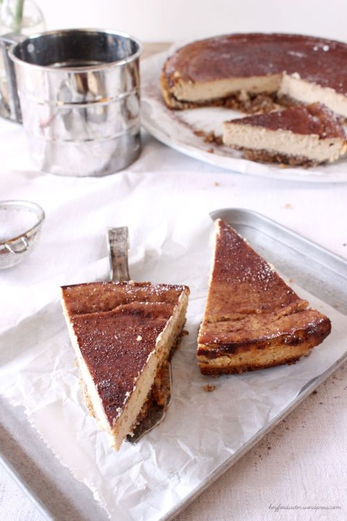 Rezept Ricotta Espresso Cheesecake Hey Foodsister