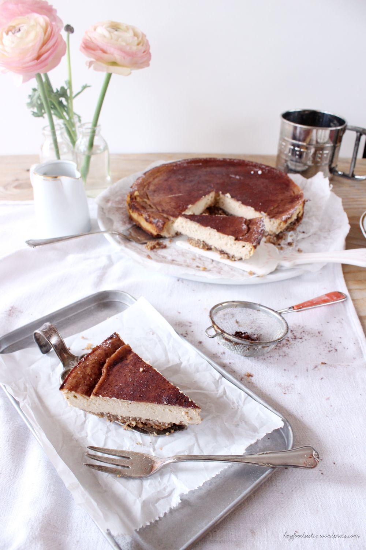 rezept f r einen ricotta espresso k sekuchen cheesecake auf italienisch hey foodsister. Black Bedroom Furniture Sets. Home Design Ideas
