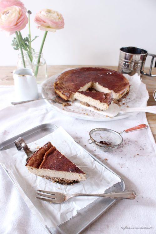 Rezept Ricotta Espresso Cheesecake