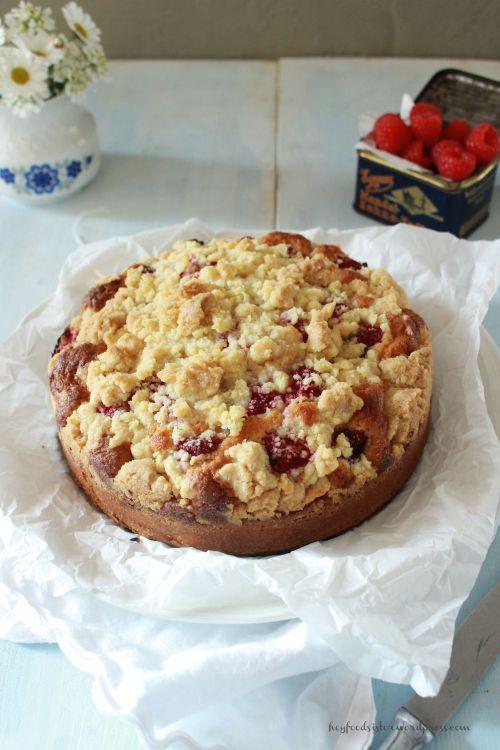 Rezept für einen Streuselkuchen mit Tonkabohnen