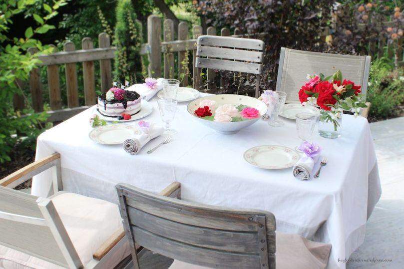 Bloggeburtstag Sommerdeko Gartenparty