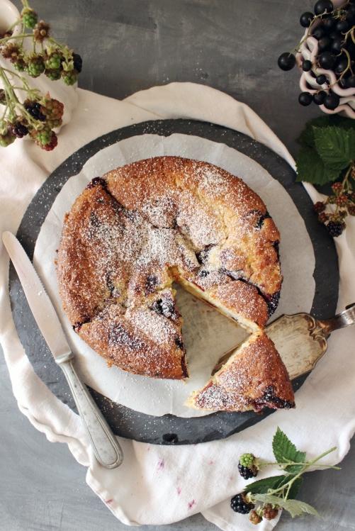 Rezept für einen Buttermilchkuchen mit Cheesecakefüllung