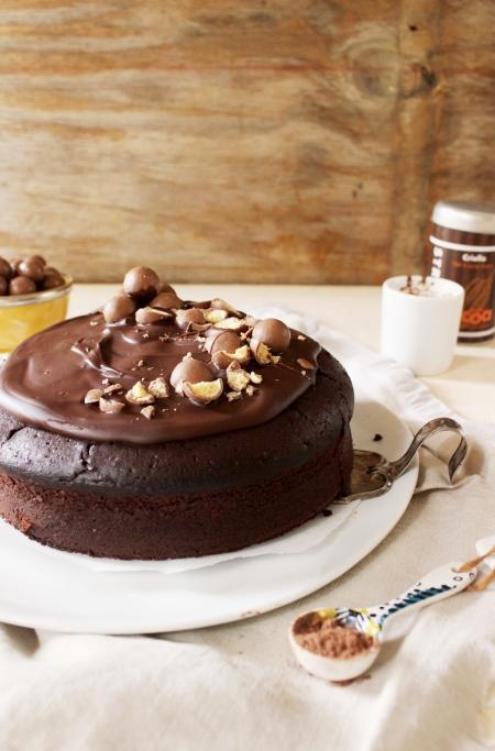 Rezept für ein Heiße Schokolade Törtchen