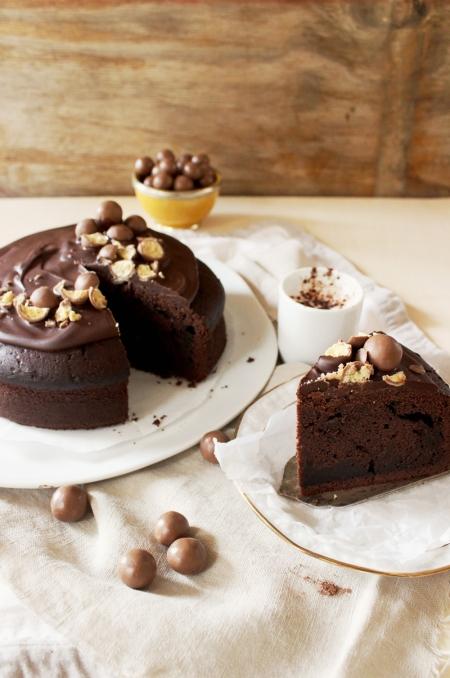 Rezept für einen heiße Schokolade Kuchen