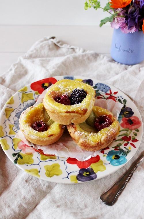 Rezept für portugiesische Vanilletörtchen