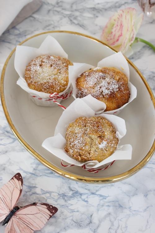 Rezept fuer Carrot Cheesecake Muffins